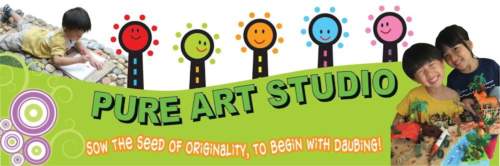 "Pure Art Studio ~ 播下""创意""的种子, 由涂鸦开始!"