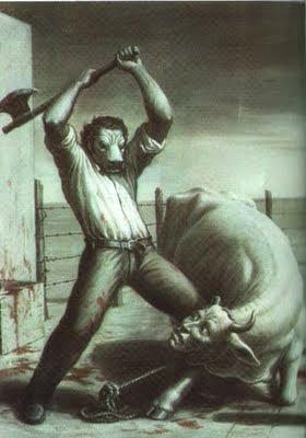 возникающее зло при еде мяса