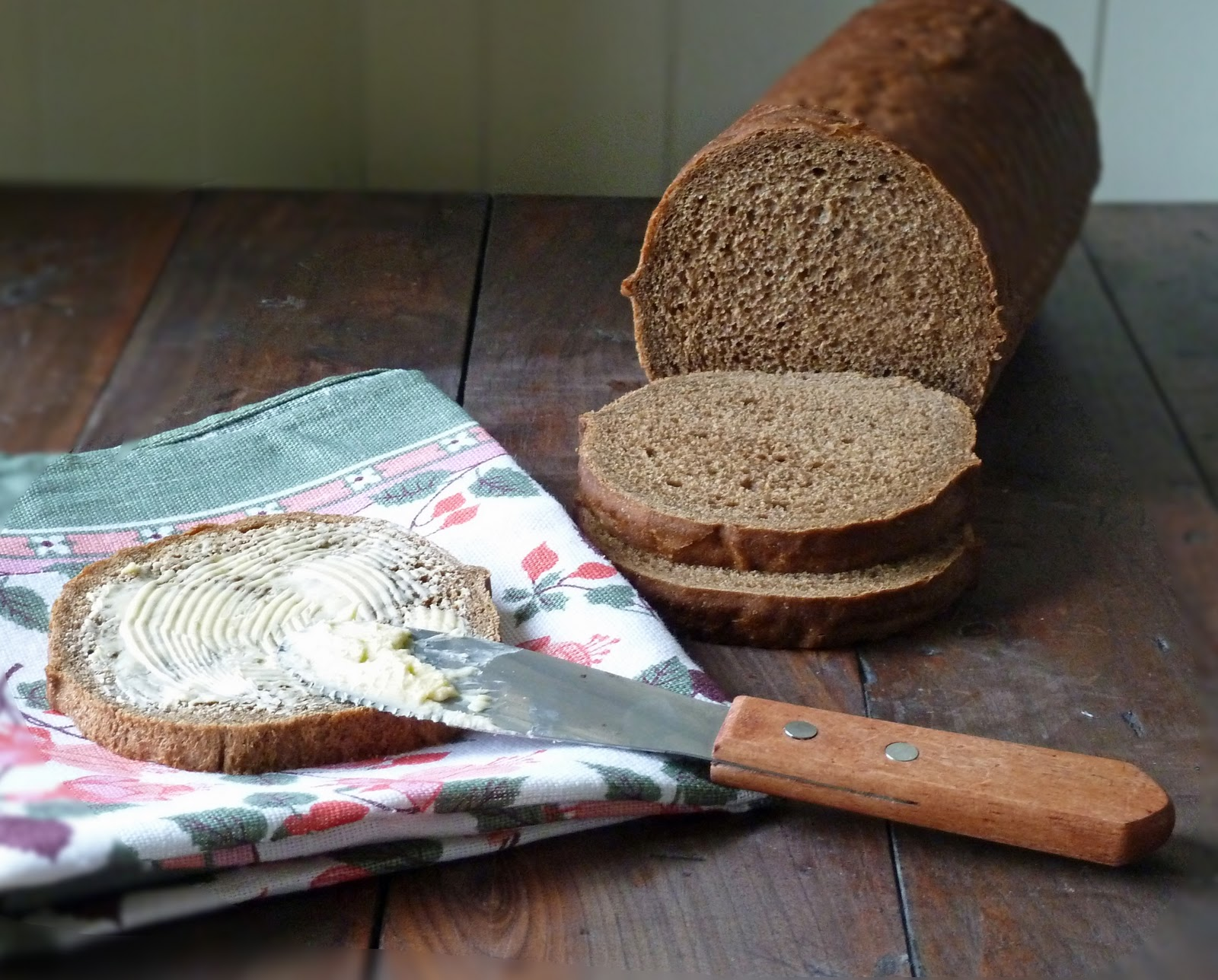 Tea and Wheaten Bread: Veda Bread