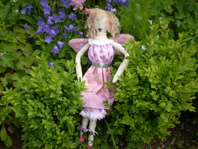 Sometimes there are fairies in my garden.