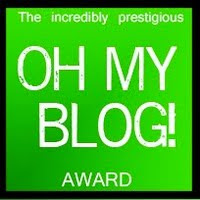 my oh my blog award..cool isnt it