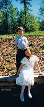 Regis and Ashley Easter 1998