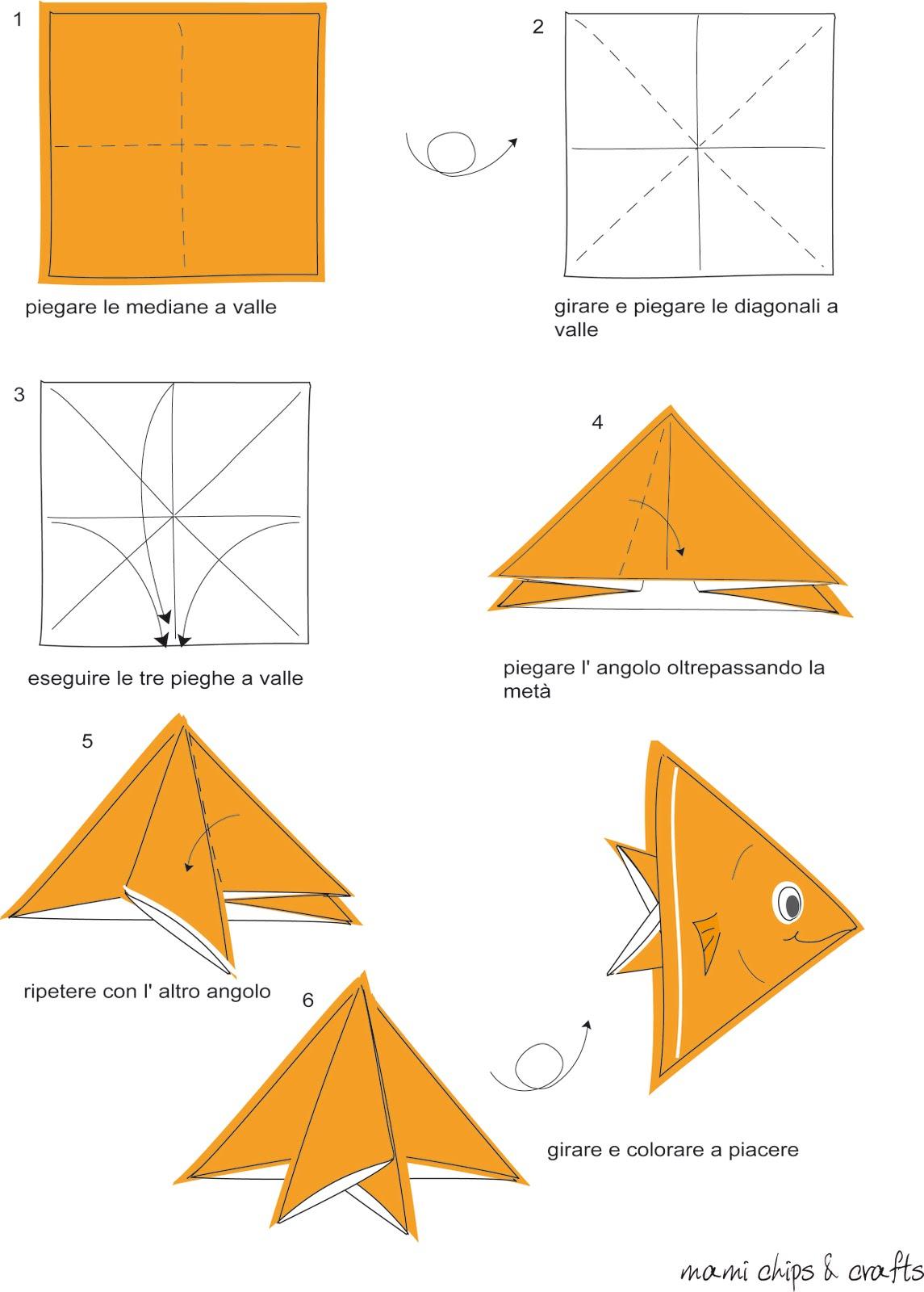 Pesce a origami