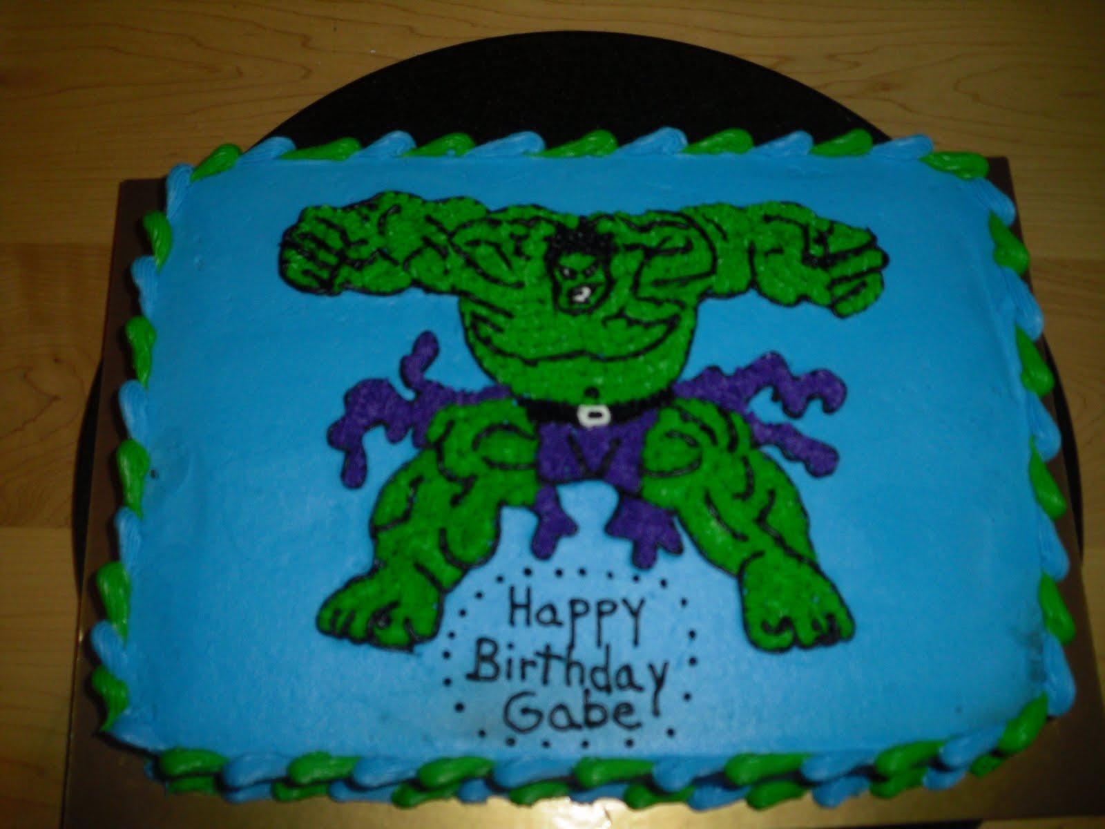 Cake Design Hulk : Cake Designs by Steph: Incredible Hulk cake!
