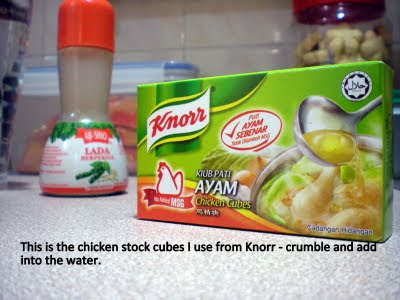 Knorr chicken stock cubes are the ones I use
