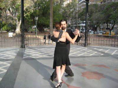 Bailo Tango para un Documental de la BBC
