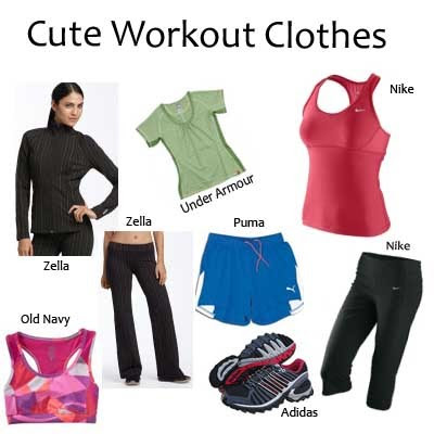 Express Fashion Clothing on Workout Clothes