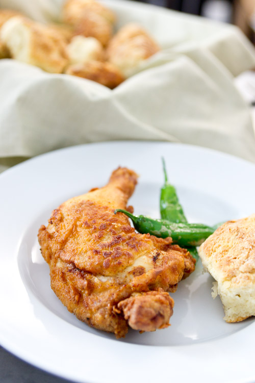 Rosemary-Brined, Buttermilk Fried Chicken Recipes — Dishmaps