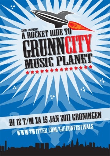 A ROCKET RIDE TO GRUNN CITY MUSIC PLANET 2011