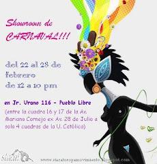 showroom de carnaval !!!!