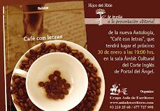 """BLOG """"CAFÉ CON LETRAS"""" (Editorial Hijos del Hule)"""