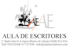 AULA DE ESCRITORES (TALLERES LITERARIOS Y CINEMATOGRÁFICOS PRESENCIALES Y ONLINE)