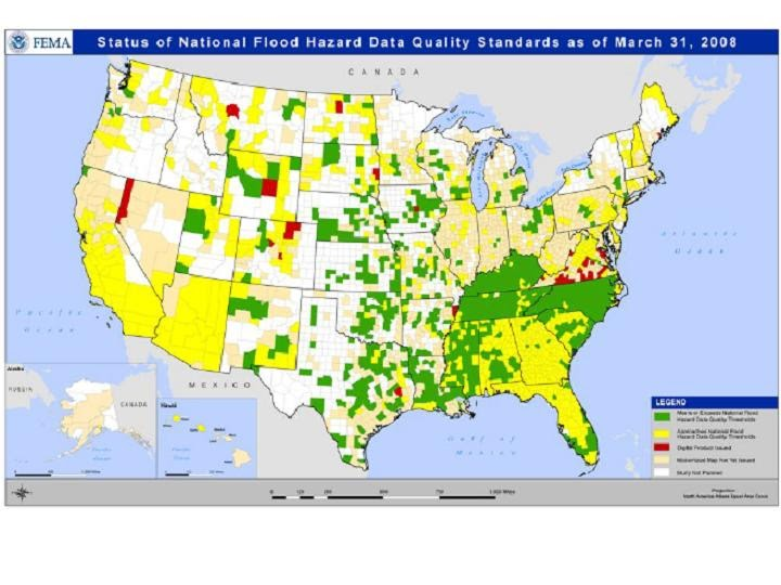 Arizona Geology FEMA flood plain maps for Arizona dont meet all