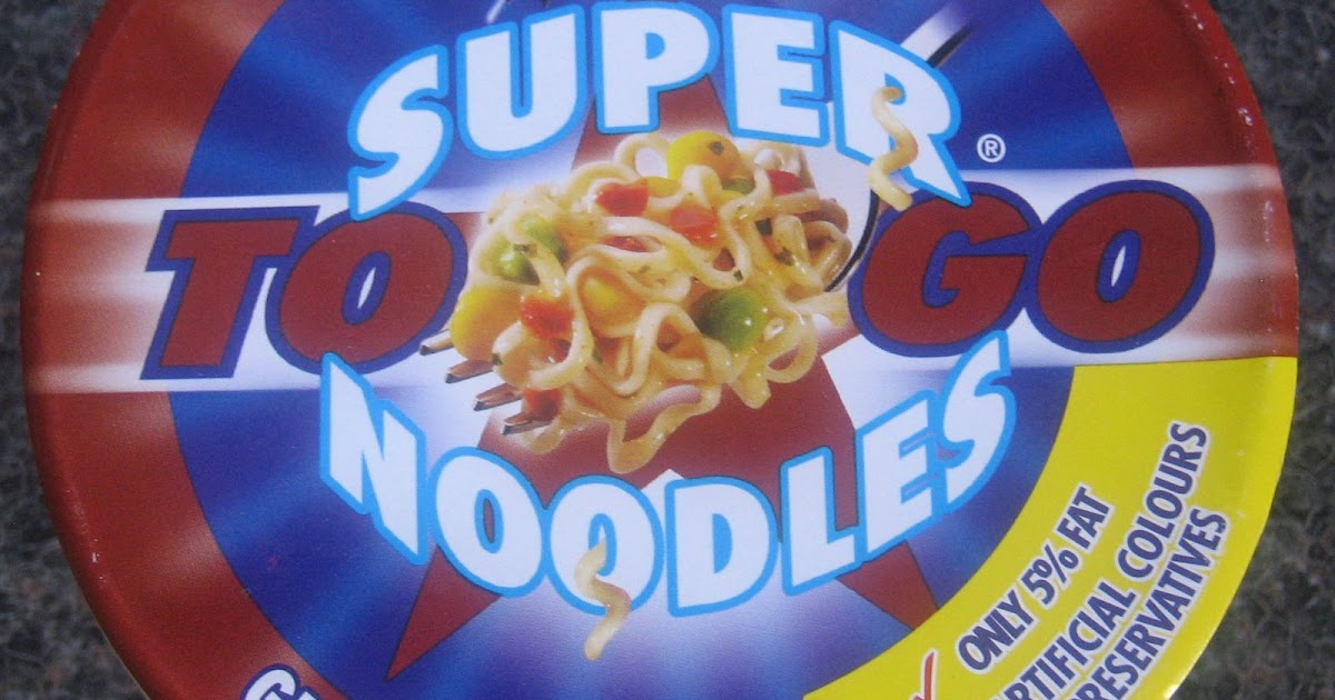 ... into the World of Ramen: Super Noodles To Go - Grilled Steak Flavour