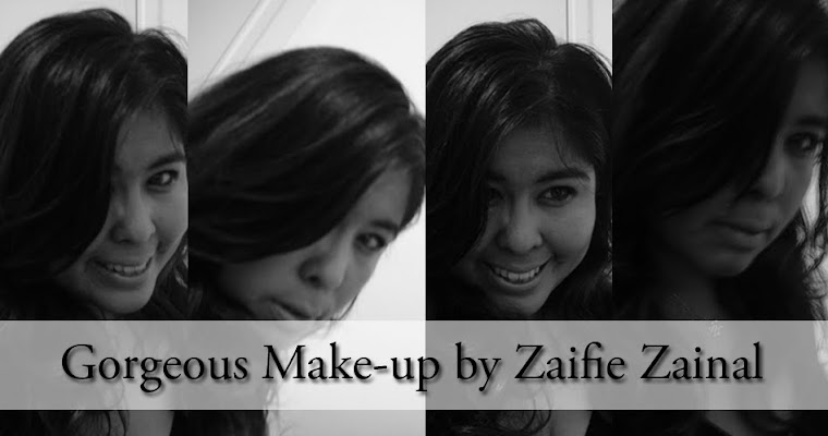 Click here for more make-up makeover by Zaifie Zainal