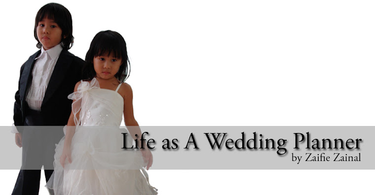 Click here for more behind the scene Life As A Wedding Planner