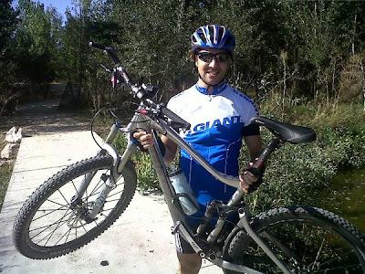David Bisbal y su afición favorita, el ciclismo