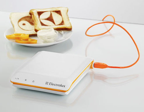 flynxs Electrolux Scan Toaster
