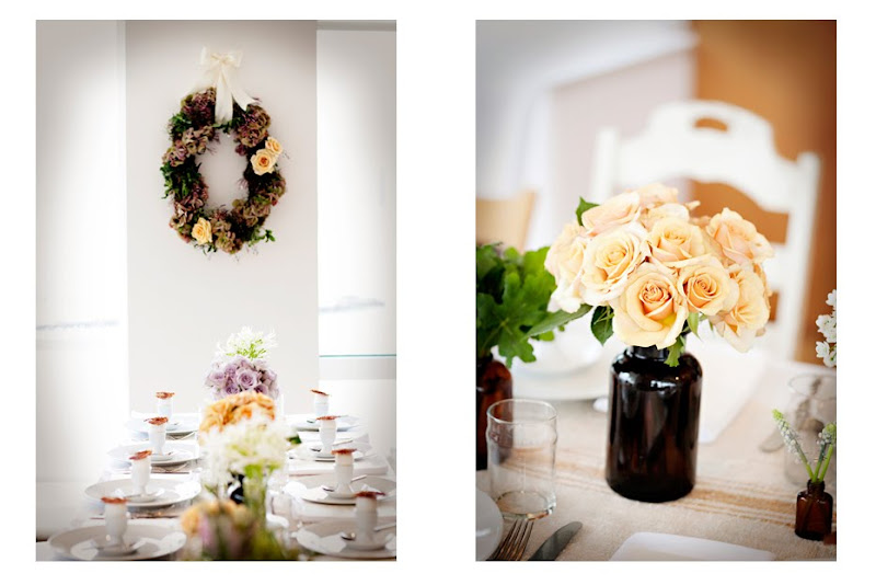 How are you decorating around your head table wedding SundaySuppers