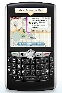 MapQuest Launches Free MapQuest 4 Mobile with BlackBerry Support