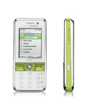 Sony Ericsson Introducing K660i Lime White