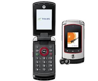 Motorola V750, a shock resistant mobile phone