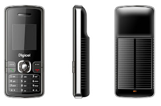 MWC2009: Digicel and ZTE Launch Coral-200 Solar Powered Phone