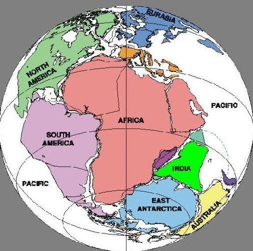 Pangea Continental Drift
