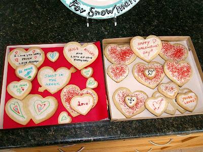 Hubby's cookies