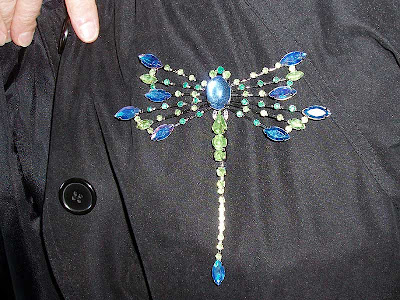 I think this Avon pin is a dragonfly but Hubby named it Scorpiom for some reason.