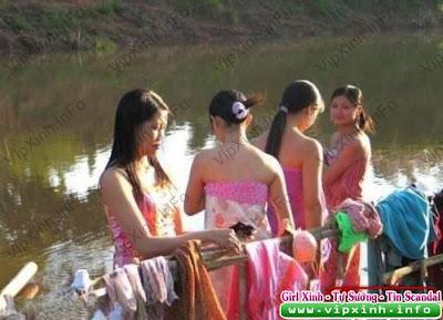 10090716151a48e6e790b0652f Chụp lén thôn nữ tắm sông
