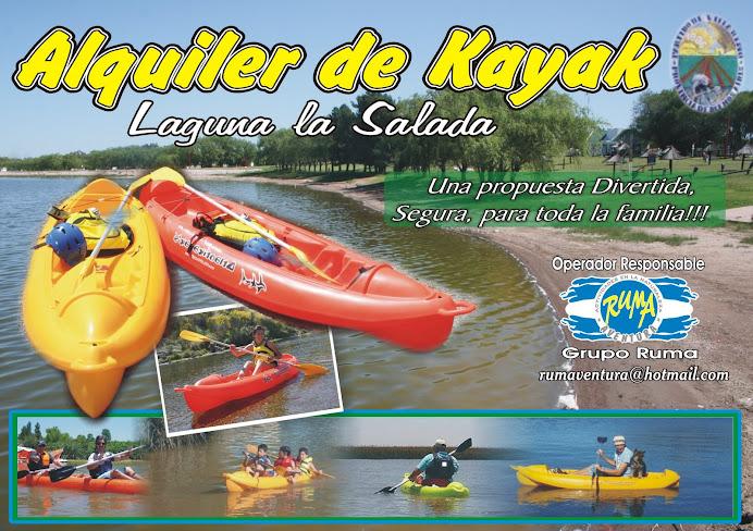 Kayaks de Alquiler