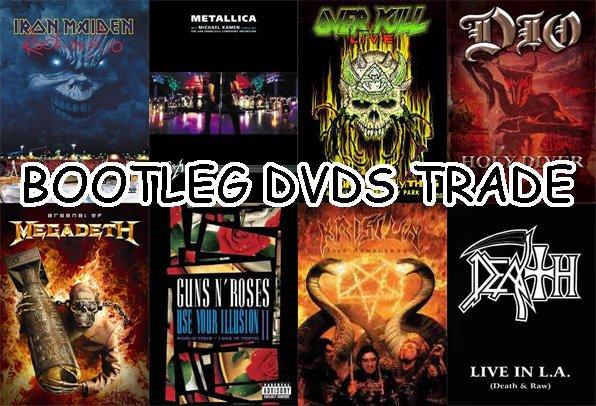 Bootlegs Music Dvd Metal Dvds Bootlegs