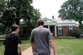 Monticello Tour Guide Job
