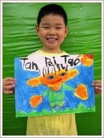 沛涛的肖像画