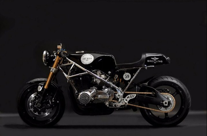 The Breitling Cafe Racer By Santiago Chopper