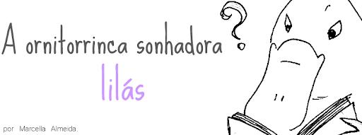 A ornitorrinca sonhadora lilás