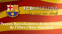 Penyes Barcelonistes de les Terres de l'Ebre i Baix Maestrat al Facebook