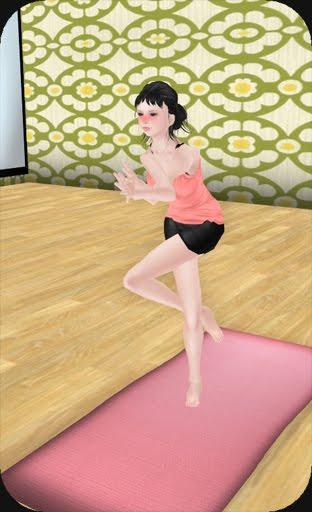m-pose 7 : Garudasana(Eagle-Pose) Click here :Watch Yoga Pose2(sitting mode)
