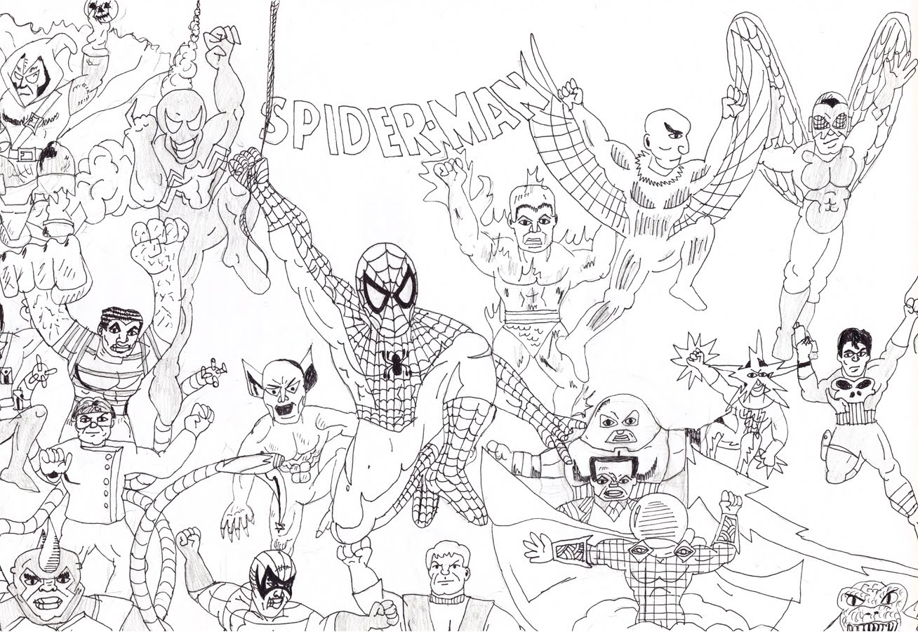 zub kid drawing spider man and his amazing fiends zub tales