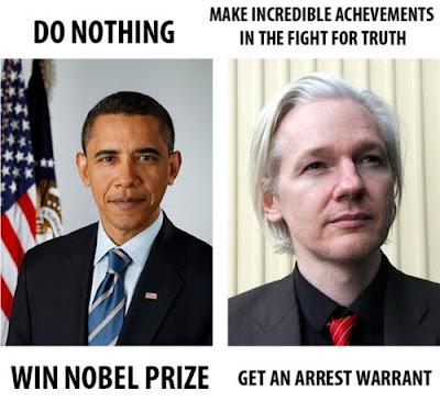 assange vs obama