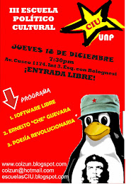 III ESCUELA POLÍTICO CULTURAL
