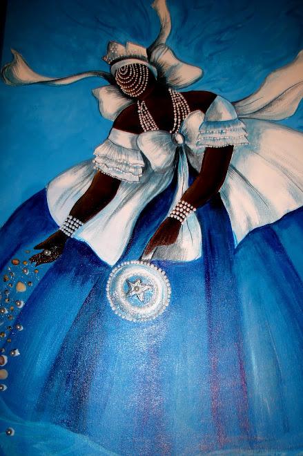 Yemanjá ,pintada para meu amigo Rodrigo