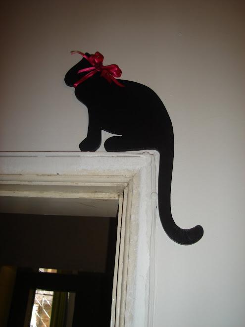 Meu negro gato...