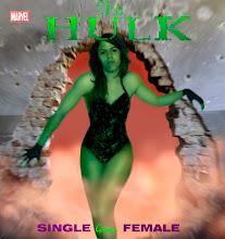 Versión fotoinfográfica de She Hulk