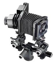 Càmera de gran format / Banc òptic (Sinar)