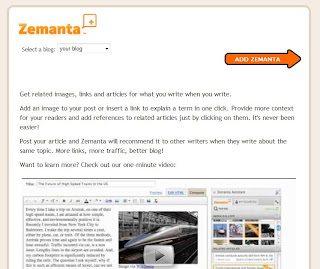 Zemanta 2 How to add Related Content gadget to your blog post editor using Zemanta API