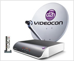 Videocon d2h set top box 1001 U Airtel Digital TV,Tata Sky and Reliance BIG TV DTH reduced Tariff Package