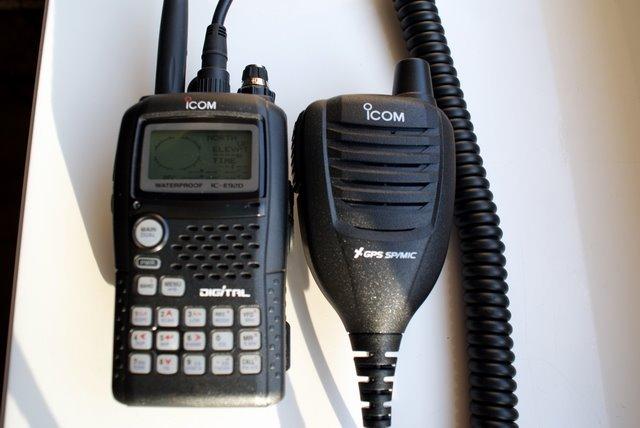 HM-175GPS & ICOM IC-E92D
