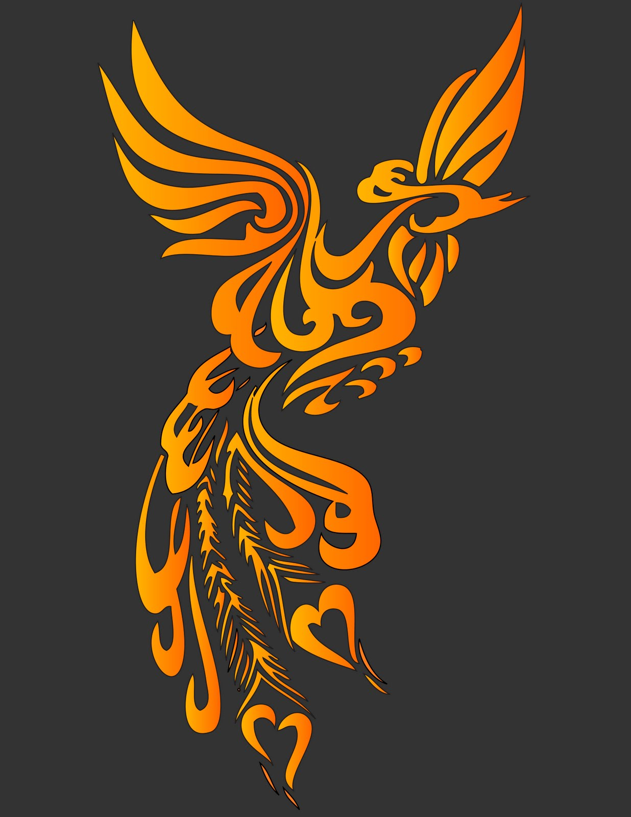 The Creative Curse Phoenix Graphic I Found Online And